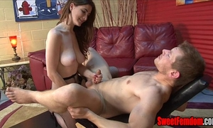 Molly's fresh fuck toy femdom ding-dong large scoops pegging