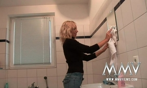 Mmv films german non-professional pair sex in the baths