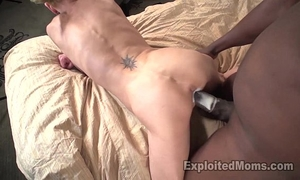 Skinny mommy receives pounded by mandingo and barely survives this bbc episode