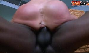 Black man permeates sexy milfs gazoo