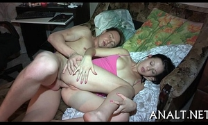 Gripping anal hammering