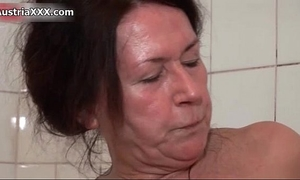 Nasty older doxies go insane sex tool