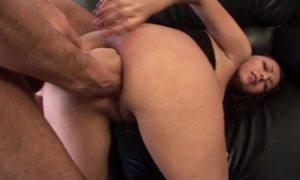 Extreme coarse anal fisting lession