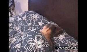 Lesbian latin chick cum-hole receives fingered in sleep01
