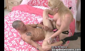 Ex con on probation receives booty drilled by my thong on!