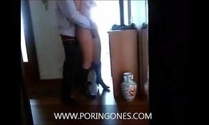 Video casero follando con la secretaria