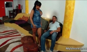Jasmine dark is a curvy sweetheart with large