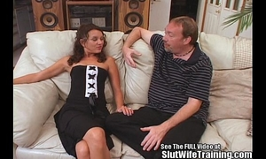 Sperm swallowing doxy BBC slut railed hard!