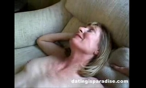 Blonde milf opens wazoo for spouse