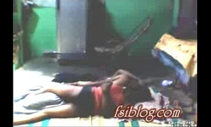 Village white women lying on floor with her neighbour