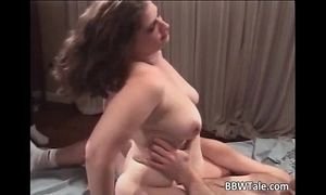 Bbw milf acquires dp sex with dark fellows who
