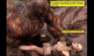 3d comic: blade maidens. video 6
