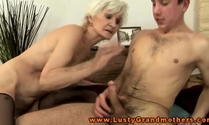 Amateur aged granny acquires ravaged