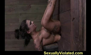 Bonnie drooling gagging and cumming two