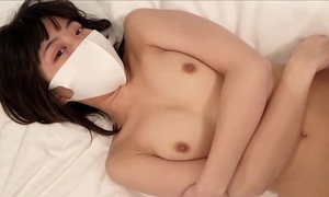 Narrow-eyed cutie with natural tits gets fucked well