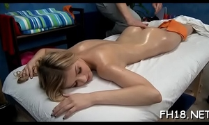 Watch as those cute 18 year old angels acquire a surprise glad ending by their massage therapist!