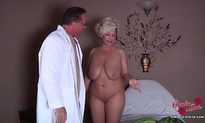 Claudia marie acquires her fake scoops put back in!