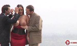 Carmella bing anal group public sex previous to home hd
