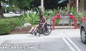 Bangbros - diminutive kimberly costa in wheelchair receives screwed (bb13600)