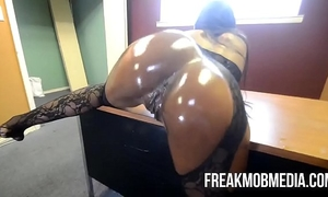 Armani sticky's large dark a-hole acquires fucked by bbc