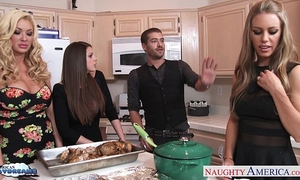 Hot angels brooklyn follow, nicole aniston and summer brielle acquires nailed