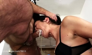 Valentina bianco - bawdy slut at work (uncensored milk vomit)