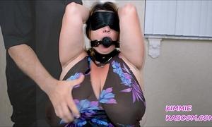 Kimmie kaboom boob & teat torture