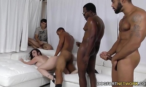 Slut sara jay banged by dark knobs