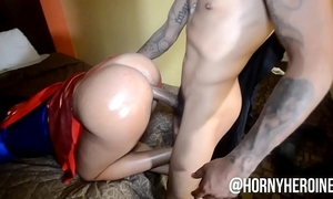 Thick lalin girl whore carolina cortez massive wazoo in cosplay bonks and sucks large shlong