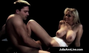 Milf queen julia ann acquires anal screwed on stage!
