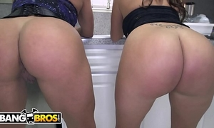 Bangbros - large butt latin chick lesbo 3way with becca diamond & vanessa luna
