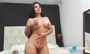 Beautiful sarah harper discloses her large pantoons and gazoo with striptease
