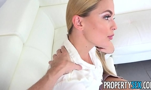Propertysex - supportive stud helps girlfriend feel more good with large shlong