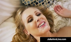 Hot step mother julia ann acquires exposed & nasty with step son!