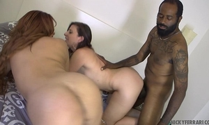 Very hawt milf's interracial sex. - sara jay & nicky ferrari shaundam