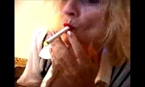 Teasing boss granny porn star breasty boob smoker