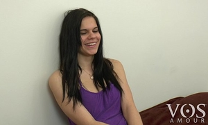 Cute vosamour black cock sluts roxanna tells us what is in her fridge! behind the scenes