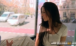 Amazing alexa tomas makes cash stripping off her garments in public