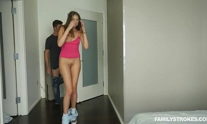 Bjxcam.com american lad copulates his hawt russian stepsis elena koshka