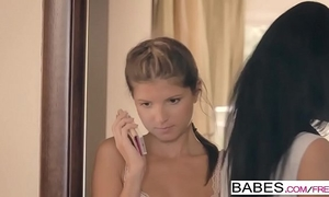 Babes - step mama lessons - fastened up bound down starring kristof cale and gina gerson and inga devil cl