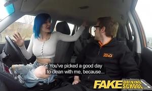 Fake driving school anal sex in pov brilliance