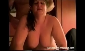 Bbw drilled doggy position after giving a wonderful orall-service